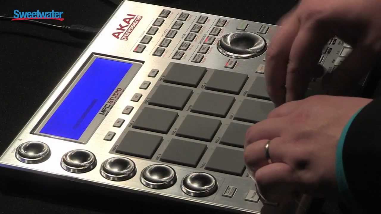 Akai MPC Studio Demo - Sweetwater Sound - YouTube
