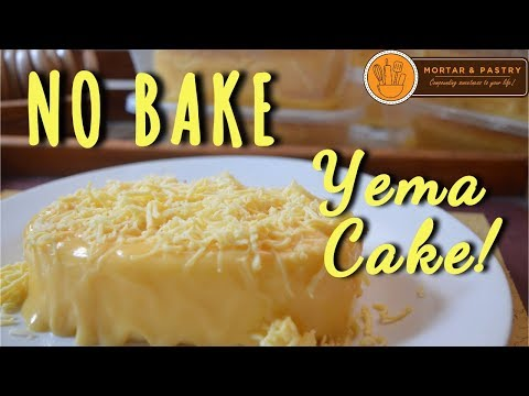 HOW TO MAKE YEMA CAKE WITHOUT OVEN! | NO BAKE YEMA CAKE RECIPE | Ep. 4 | Mortar & Pastry