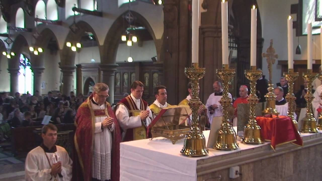 First Solemn High Mass - Entrance Procession - YouTube