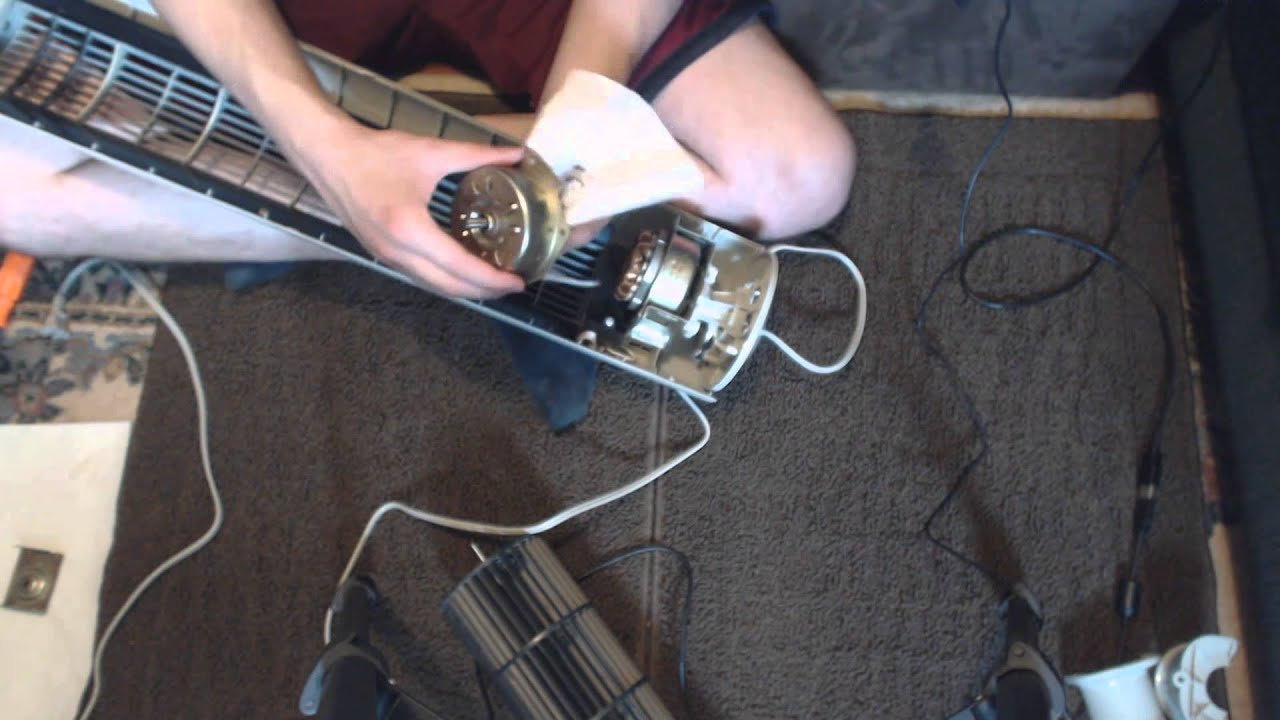 How to Disassemble Clean amp Quiet a Tower Fan YouTube