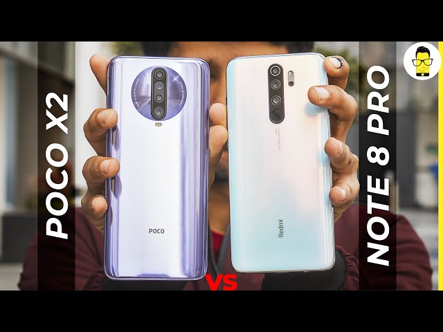 Poco X2 vs Redmi Note 8 Pro camera comparison | Sony IMX 686 vs Samsung GW1 | 64MP battle