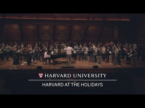 Harvard at the Holidays