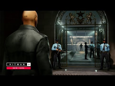 Hitman 2 The Bank New York Master Difficulty Suit Only Silent