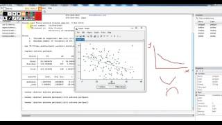 using stata to evaluate assumptions of simple linear regression