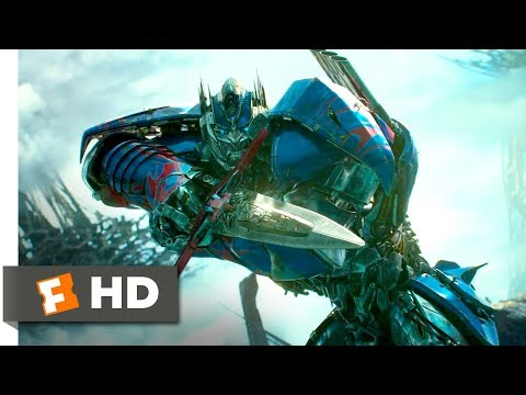 Transformers: The Last Knight (2017) - Optimus Arrives Scene (9/10) | Movieclips