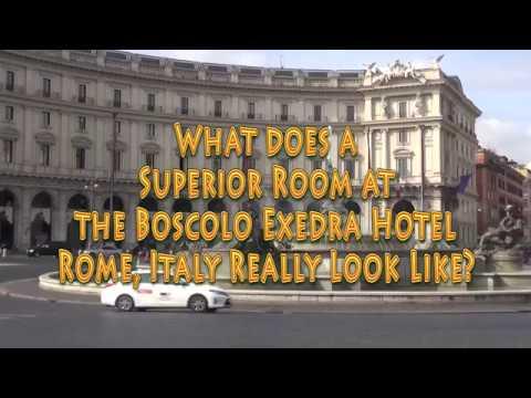 Boscolo Exedra Hotel, Rome Italy, Superior Room