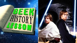 Star Wars: History of the Jedi - Geek History Lesson