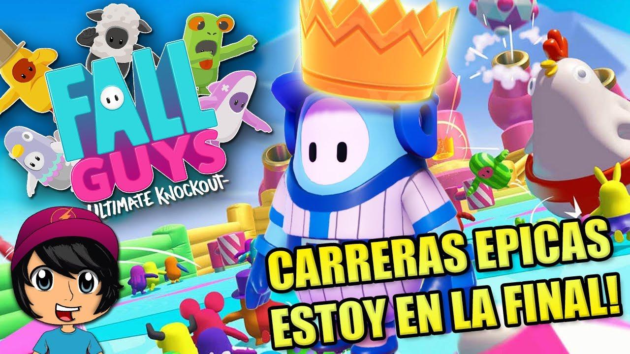 CARRERAS ÉPICAS POR LA CORONA 👑! | Soy Blue | Fall Guys Español