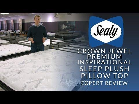 Sealy Crown Jewel Premium Inspirational Sleep Plush Euro Pillow Top Mattress Expert Review