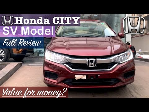 Honda City 2017 SV Model Interior,Exterior,Features Walkaround and Full Review