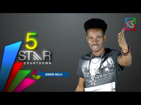 KOREDE BELLO OF THE MAVINS RECORDS ON KAZOO SOUNDS TOP 5 STAR COUNT DOWN