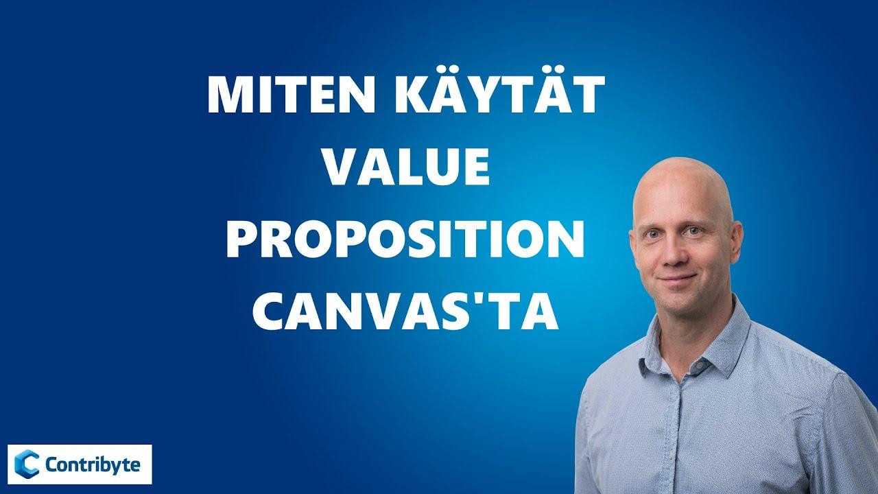 Value Proposition Suomeksi