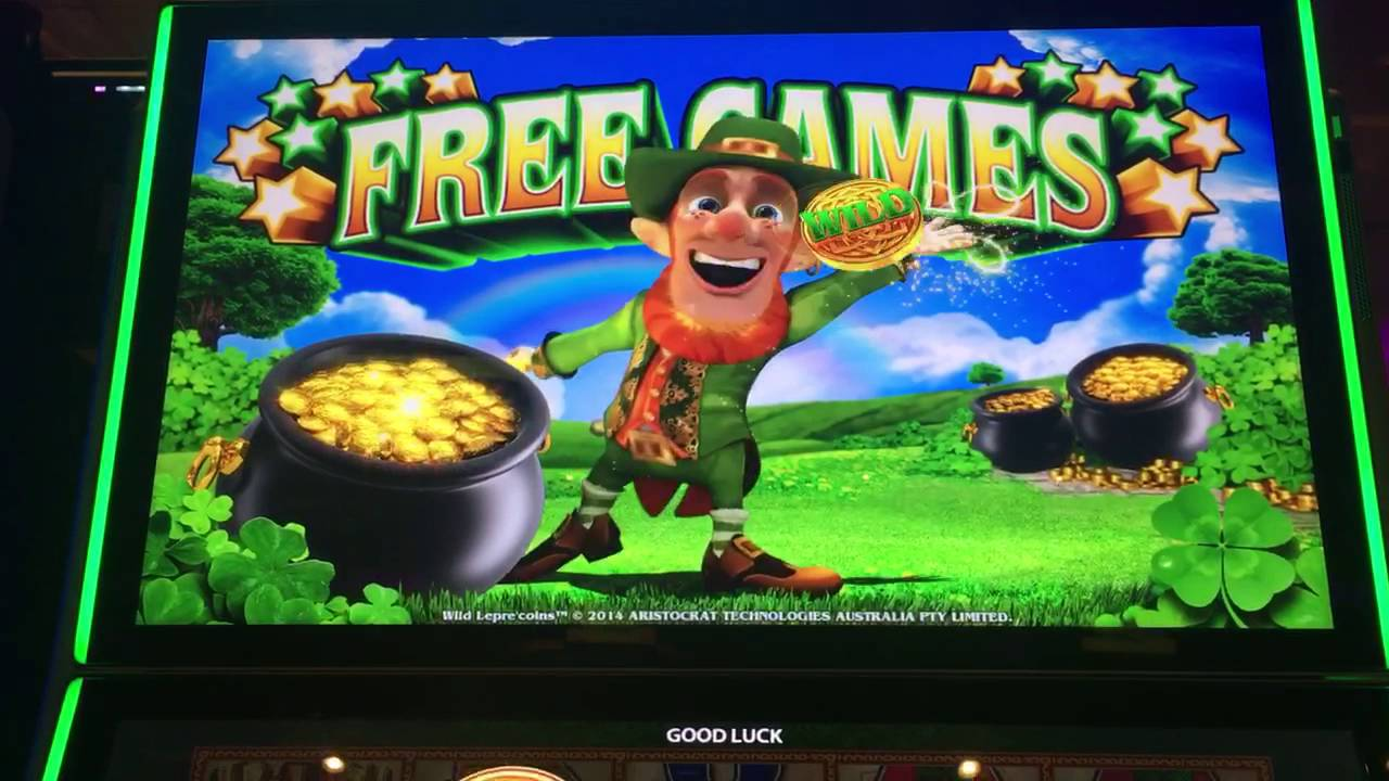 Wild Leprechaun Slot Machine