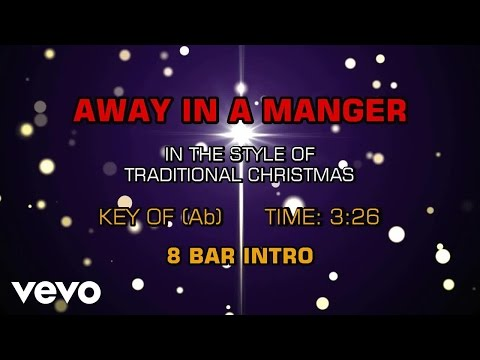 Traditional Christmas Songs - Away In A Manger (Sing Together Christmas)