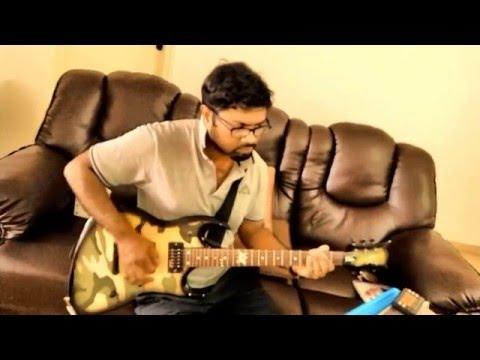"Hey mama (Sethupathi) guitar 'cover"""