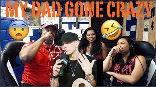 My Dads Gone Crazy  - Eminem (Lyrics) Producer Reaction