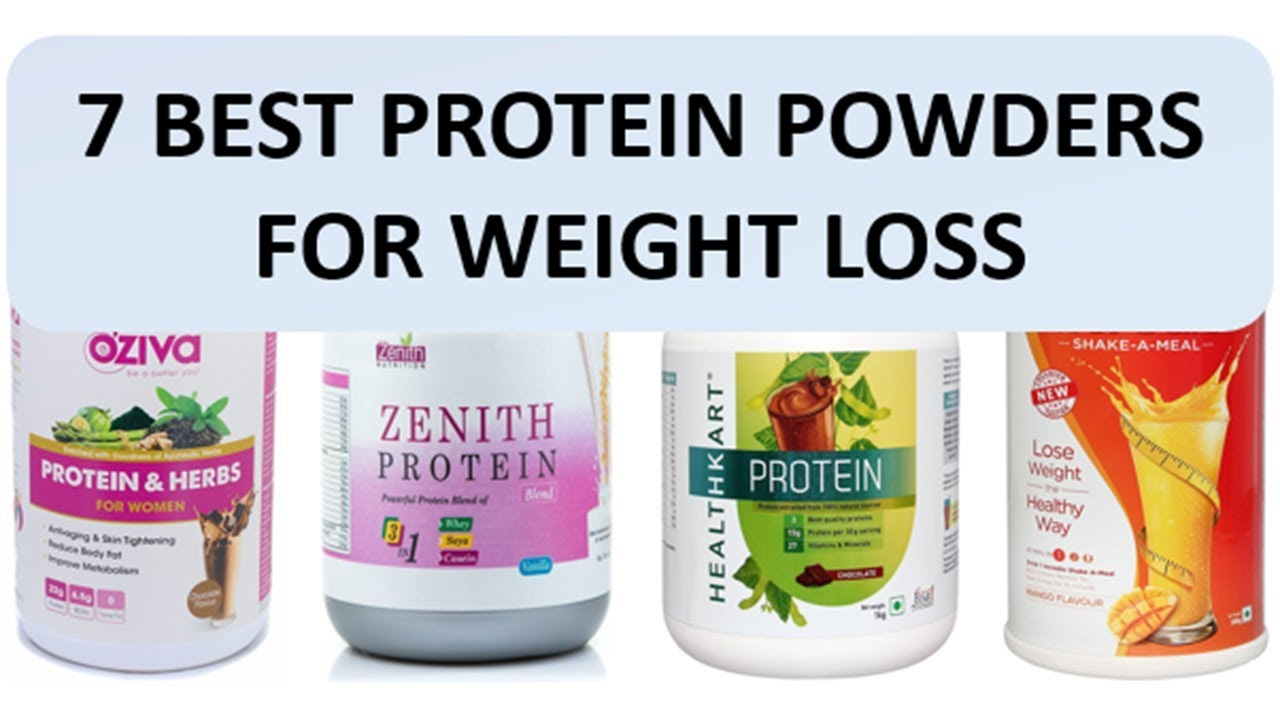 7 Best Protein Powders for Weight Loss