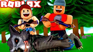 THE WEREWOLF HUNTERS-Roblox A Wolf Or Other