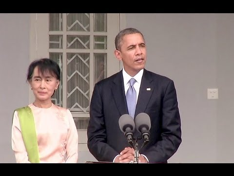 President Obama and Aung San Suu Kyi Deliver Remarks