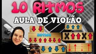 COMO TOCAR 10 RITMOS NO VIOLÃO PARA INICIANTES