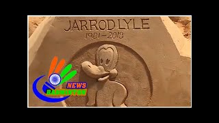 Jarrod Lyle honored with sand sculpture at Wyndham