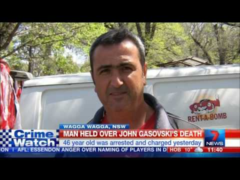 Man Arrested Over Businessman's Murder - Wagga Wagga, NSW (2015)