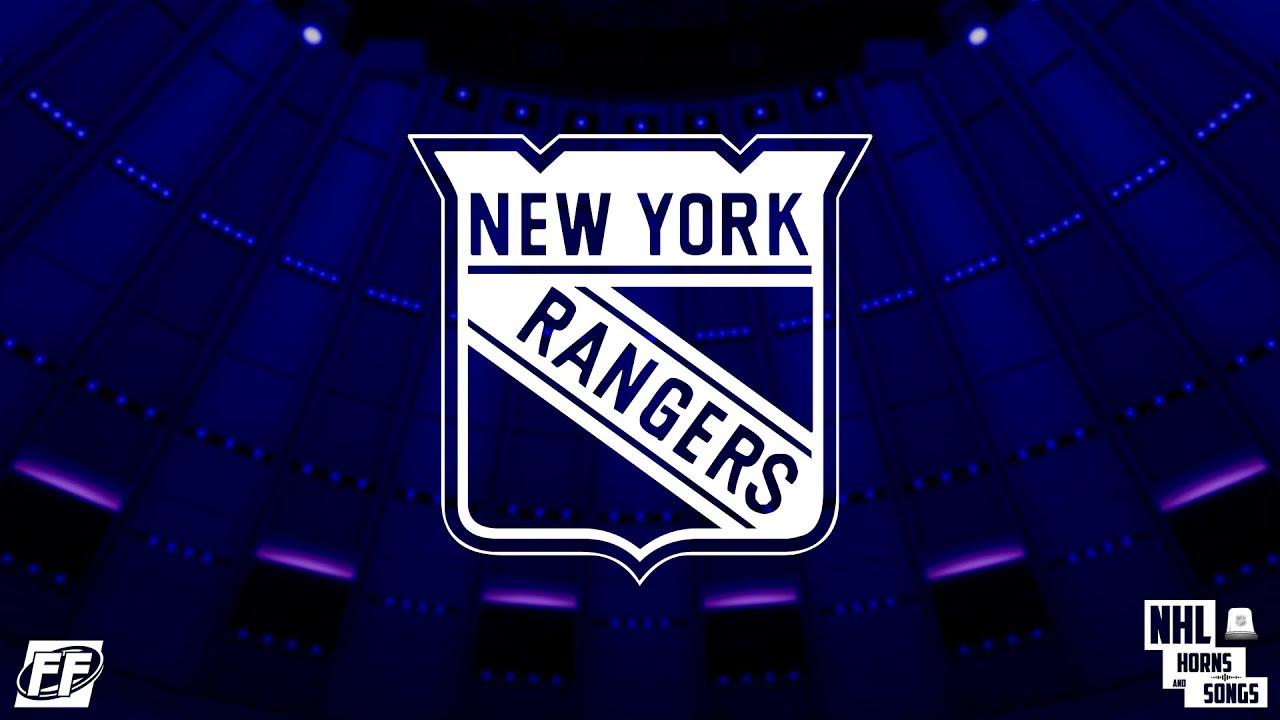New York Rangers Wallpaper Hd New York Rangers 2014 2015 Goal Horn With Guitarist ᴴᴰ