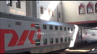 Двухэтажный поезд №104 Москва — Адлер