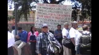 MARCHA MITIN DE LA POLICÍA AUXILIAR DEL D.F