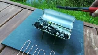 DIY One Sausage Grill