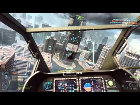 Battlefield 4  - Attack Chopper Domination 02 - Run 'em Down