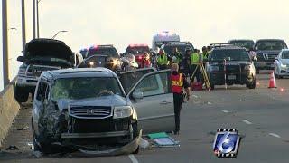 Major accident causes Harbor Bridge shutdown