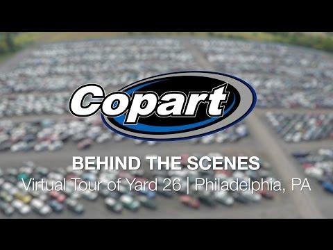 Copart: Behind the Scenes – Virtual Tour of Yard 26   Philadelphia, PA