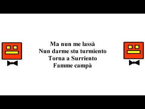 Luciano Pavarotti - Torna A Surriento (Letra)