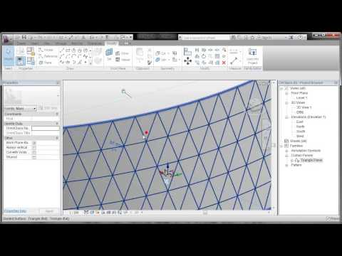 REVIT: Pattern Based Curtain Walls