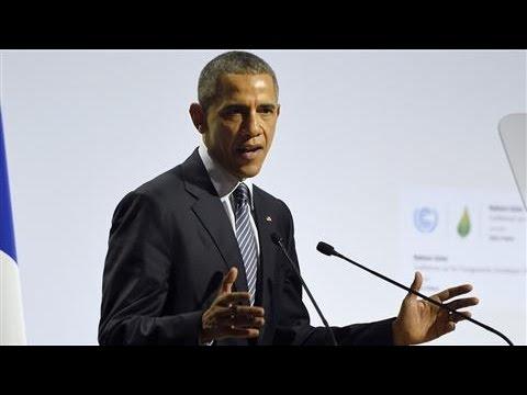 Obama Addresses COP21 Climate Conference