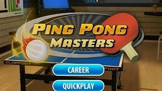 Ping Pong Masters - Настольный теннис на Android ( Review)