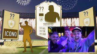 Mi primer ICONO NUEVO in a PACK OPENING! FIFA 20