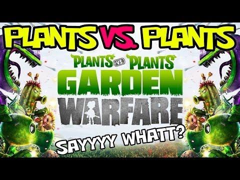 Plants vs. Plants Garden Warfare?  Sunflower Power!  Jay Diggity Redeems Himself!