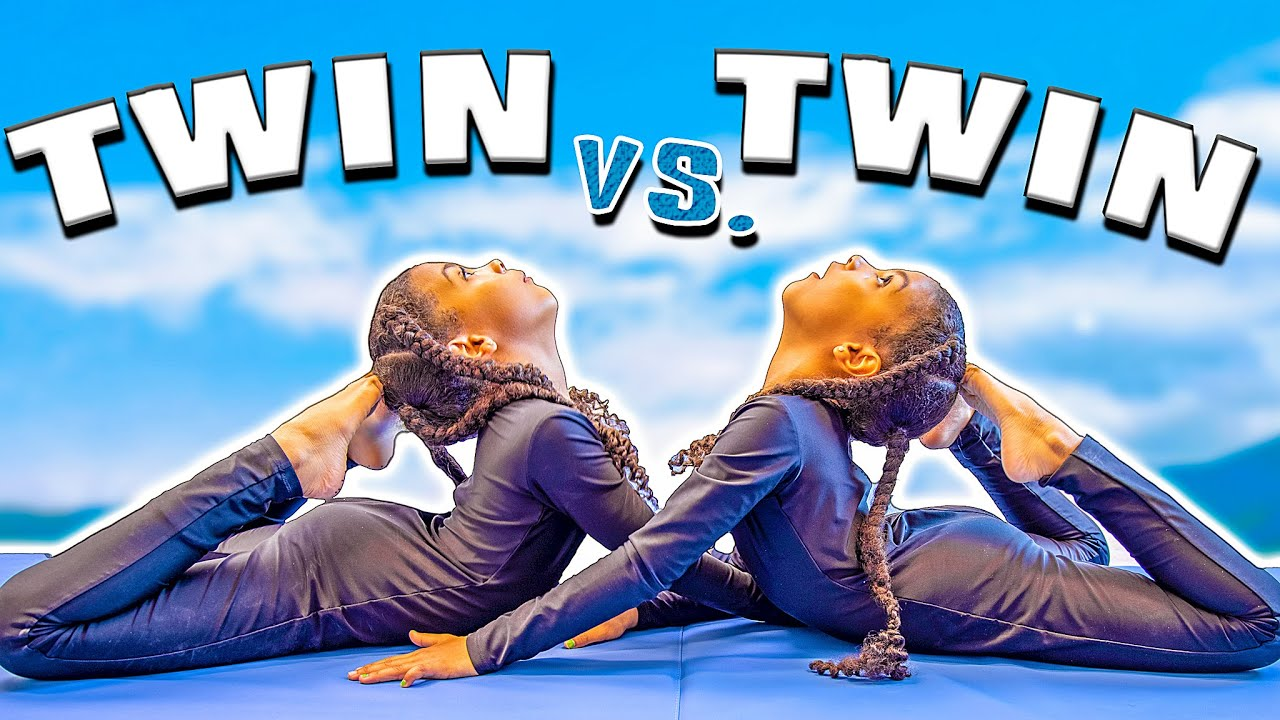 Twin VS Twin Gymnastics Challenge!