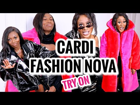 Cardi B X Fashion Nova Try On With Patricia Bright