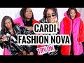 Cardi B X Fashion Nova Try On With Patricia Bright