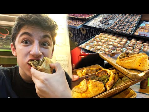 "EATING STREET FOOD IN ISRAEL  - ""Eitan Explores Israel"" (E:1) 