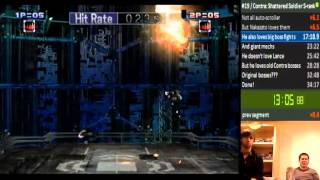 Contra: Shattered Soldier co-op in 33:59