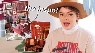 planning a BRIGHT mid century living room makeover!