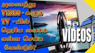 How to Convert MP4 to Tv Format (Mpg) in Tamil