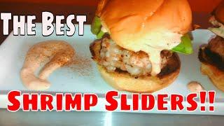 Tasty Shrimp Slider Burger Recipe!
