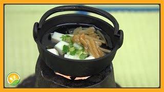 Canh đậu hũ tí hon - Boiled tofu