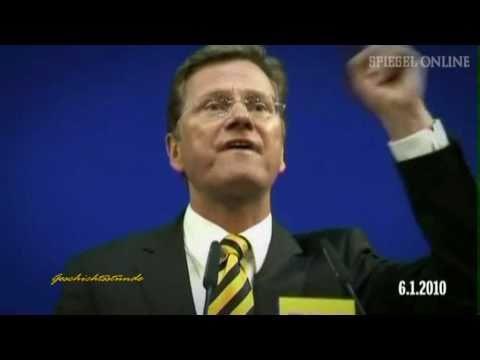 Guido Westerwelle - Chronik des Scheiterns