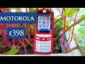 Motorola e398 !!! Hp jadul dengan dual speaker